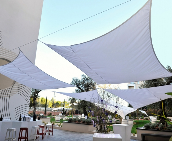 Settle In The Shade In The Pop Up Garden At The Hotel Renaissance