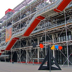 Le Centre national d'art et de culture Georges-Pompidou